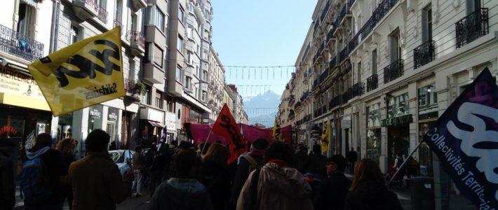 Grenoble : la mobilisation contre les ordonnances Macron se développe.