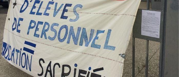 Appel pour un 12 septembre de lutte dans l'éducation à Grenoble