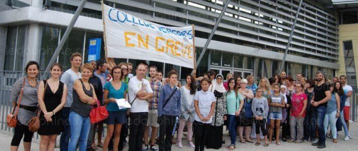 Solidarité avec la lutte exemplaire des grévistes du collège Vercors ! [caisse de soutien]