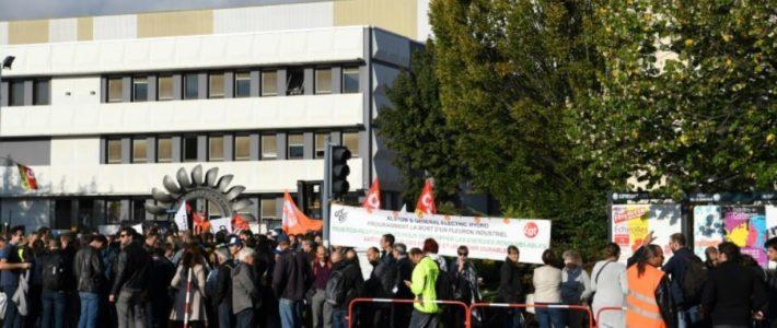 Solidaires Isère soutien la lutte des salariés de GE Hydro Alstom