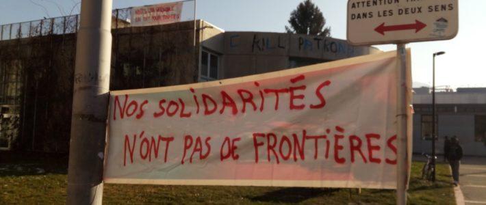Réquisition de locaux de l'Université Grenoble Alpes pour le logement de toutes et tous