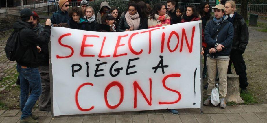 Lycées et fac de Grenoble en lutte contre la sélection : blocus, AG, grève et manif le 6 février !