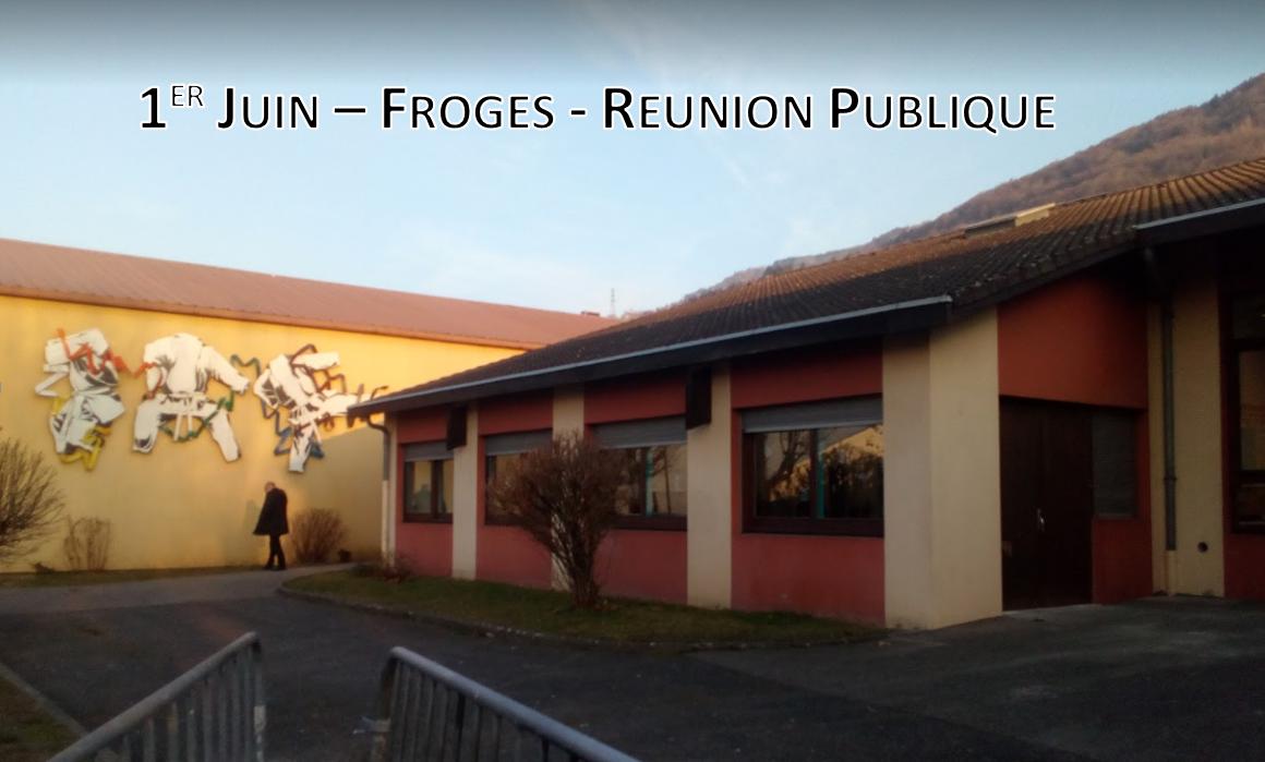 """Réunion publique à Froges : """"Y a-t'il une crise ou non au centre culturel de Brignoud ?"""""""