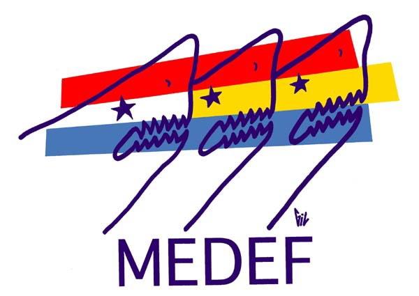 Contre le MEDEF et le patron des patrons, RDV à Grenoble le 14 juin !