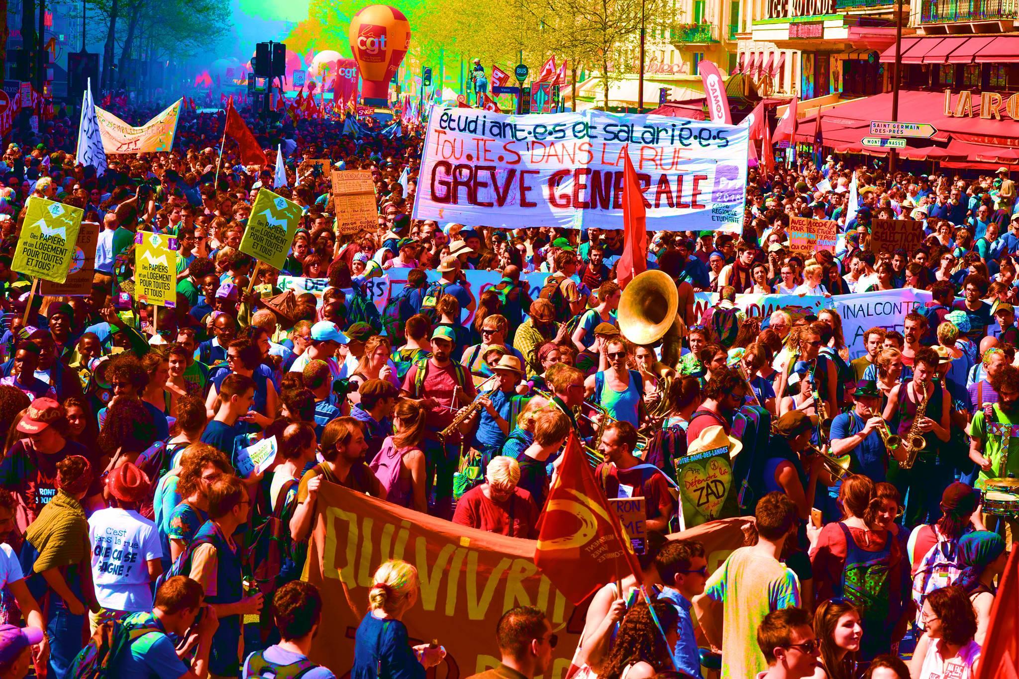 Un 9 octobre en grève et en manif, en Isère comme ailleurs !