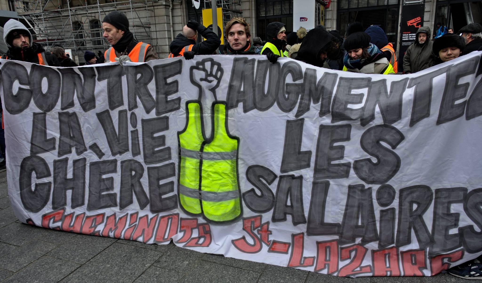 """5 février et après : gilets jaunes/syndicats, """"même Macron, même combat"""" !"""