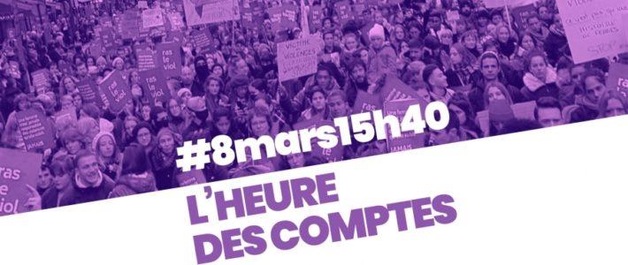 Un 8 mars 2019 en grève et en lutte, à Grenoble comme partout ailleurs !