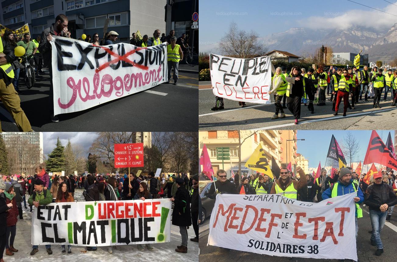 1er mai à Grenoble : une unité exceptionnelle pour la justice sociale, fiscale et climatique !