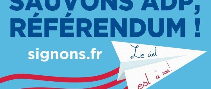 Solidaires appelle à gagner la bataille du Referendum d'Initiative Partagée contre la privatisation d'ADP comme une étape pour la transformation sociale !