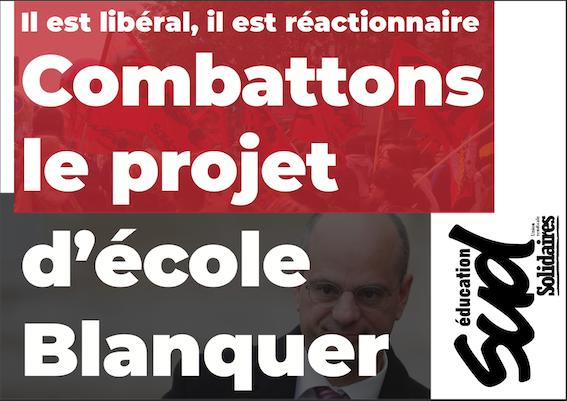 Éducation Nationale : En grève le 17 juin pour le retrait de toutes les lois Blanquer et une école publique de qualité !