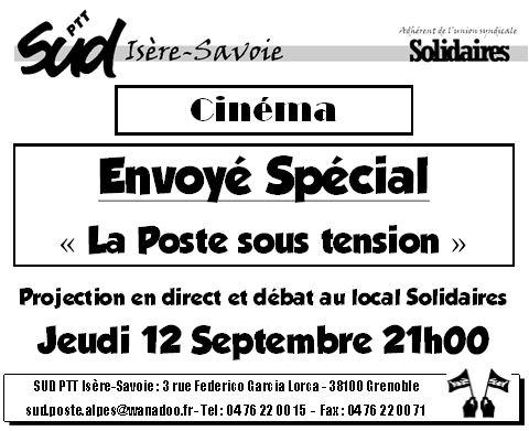 Envoyé spécial «  La Poste » du 12 septembre : La vérité éclate au grand jour !