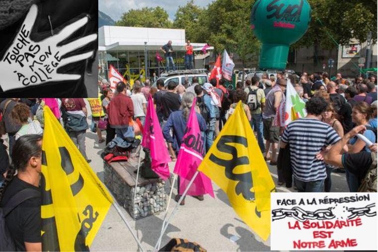 Grenoble : une semaine  contre la répression