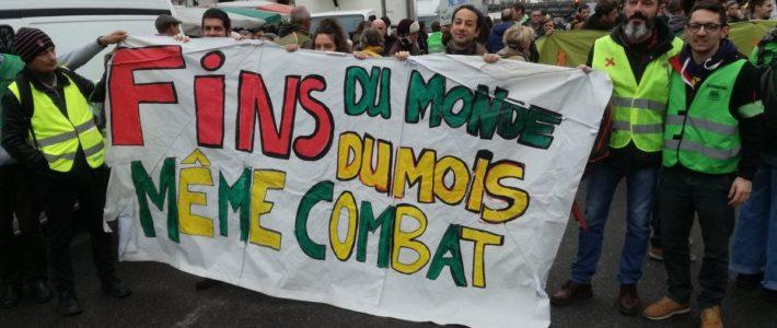 16/11 à Grenoble : Fin du monde, fin du mois même combat !