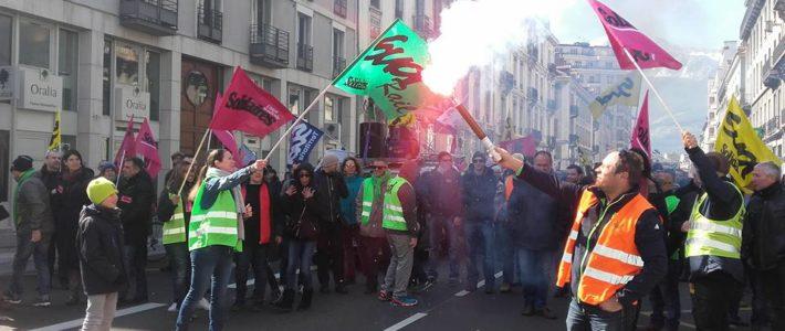 10, 11, 12 décembre, une Semaine décisive : on amplifie ! Grève, AG, actions, manif en Isère !