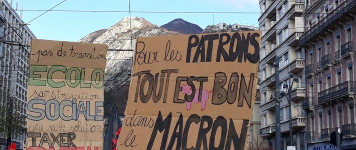 13,14,15,16,17,18 décembre, en grève, dans la rue,en AG et en action à Grenoble et en Isère ! #OnVaGagner
