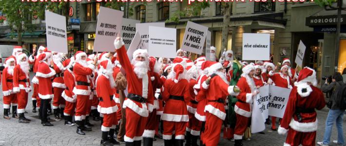 Tenir les fêtes, temps-forts des 28 décembre et 9 janvier : ne rien lâcher, soutenir les grévistes, multiplier les actions ! [+ jeu bonus surprise ;)]