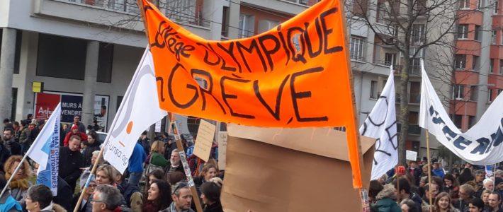 Villeneuve, VO et Vigny Musset : les quartiers Sud de Grenoble en action contre la réforme des retraites et pour la justice sociale !