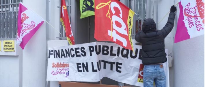 La liste de la honte de la direction des impôts à Grenoble : riposte par la grève reconductible et la solidarité !