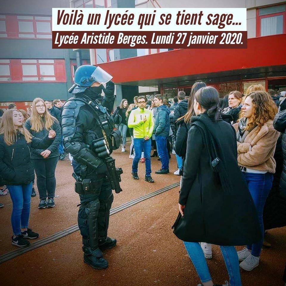 E3C en Isère: Nous n'accepterons pas la répression d'un mouvement de colère légitime !