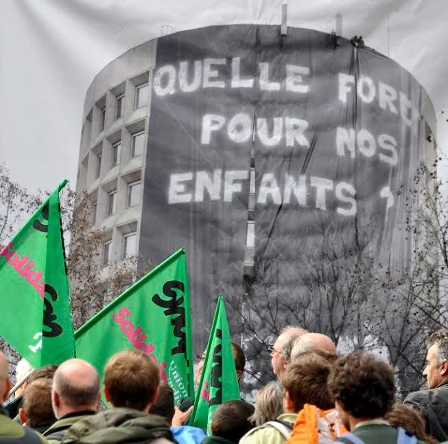 Rassemblement public contre l'abattage de l'ONF le 13 février à Grenoble