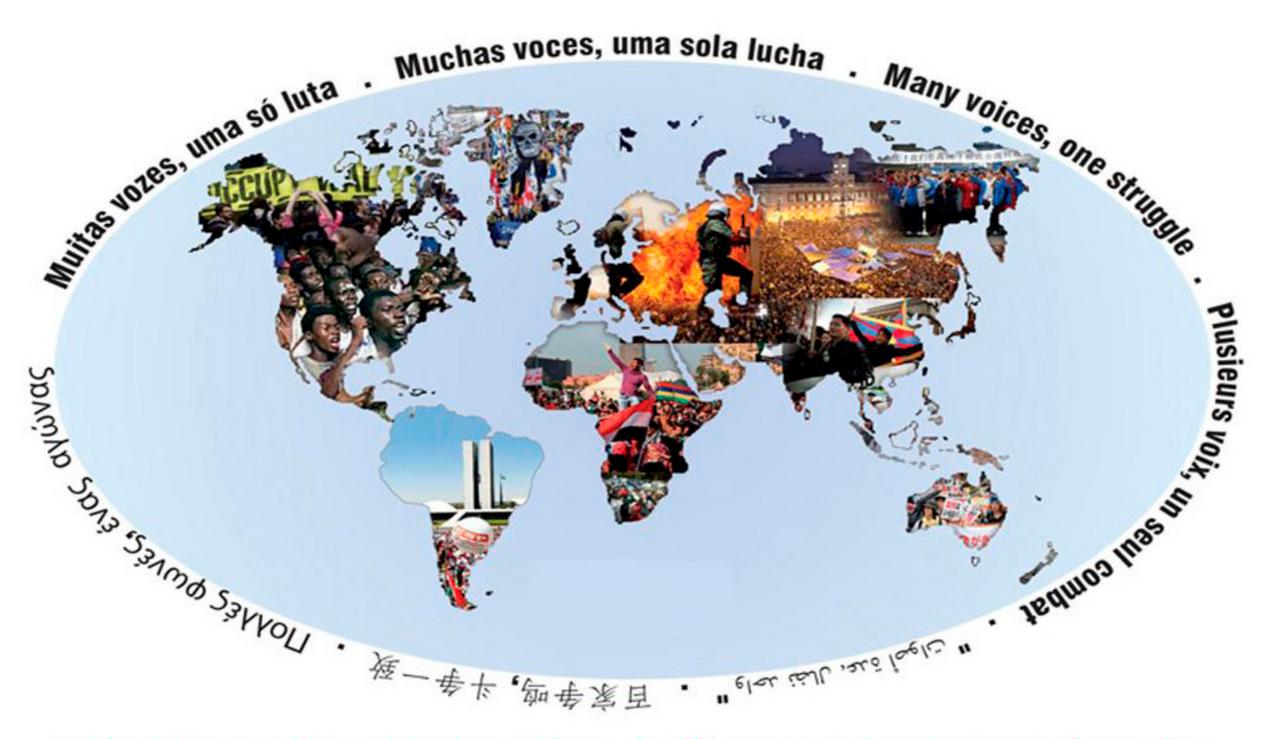 """""""Ils sont en guerre…contre nous"""" – déclaration syndicale internationale"""