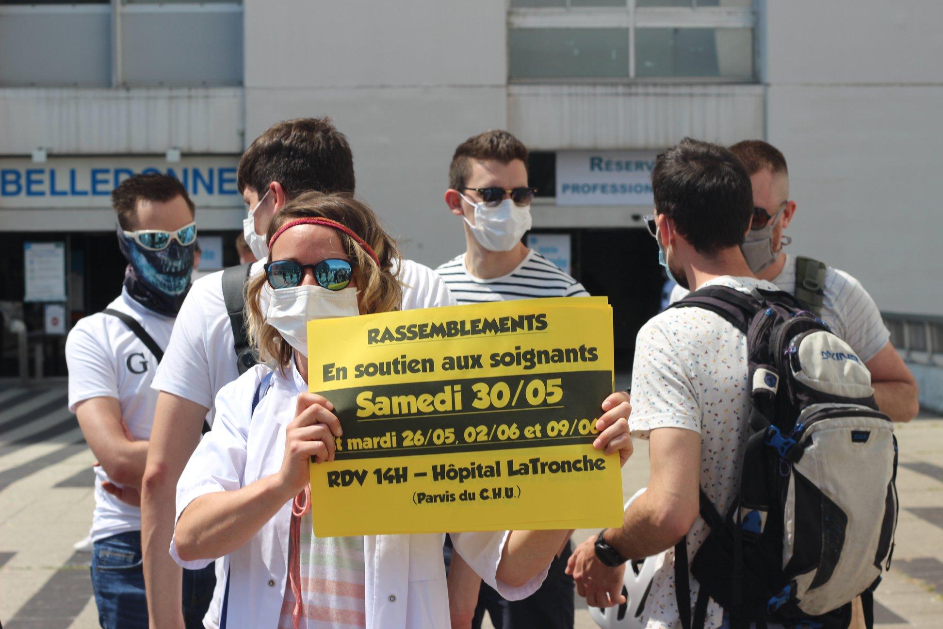 De l'argent pour l'hôpital public, pas pour le capital ! RDV au CHU de Grenoble le 30 mai