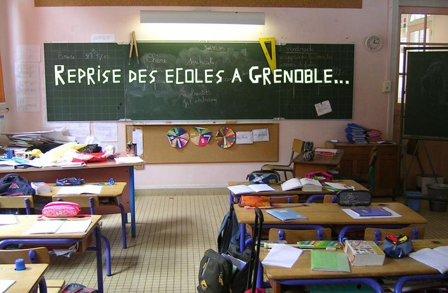 """Reprise des écoles à Grenoble : """"Comment ça aurait pu être…"""""""