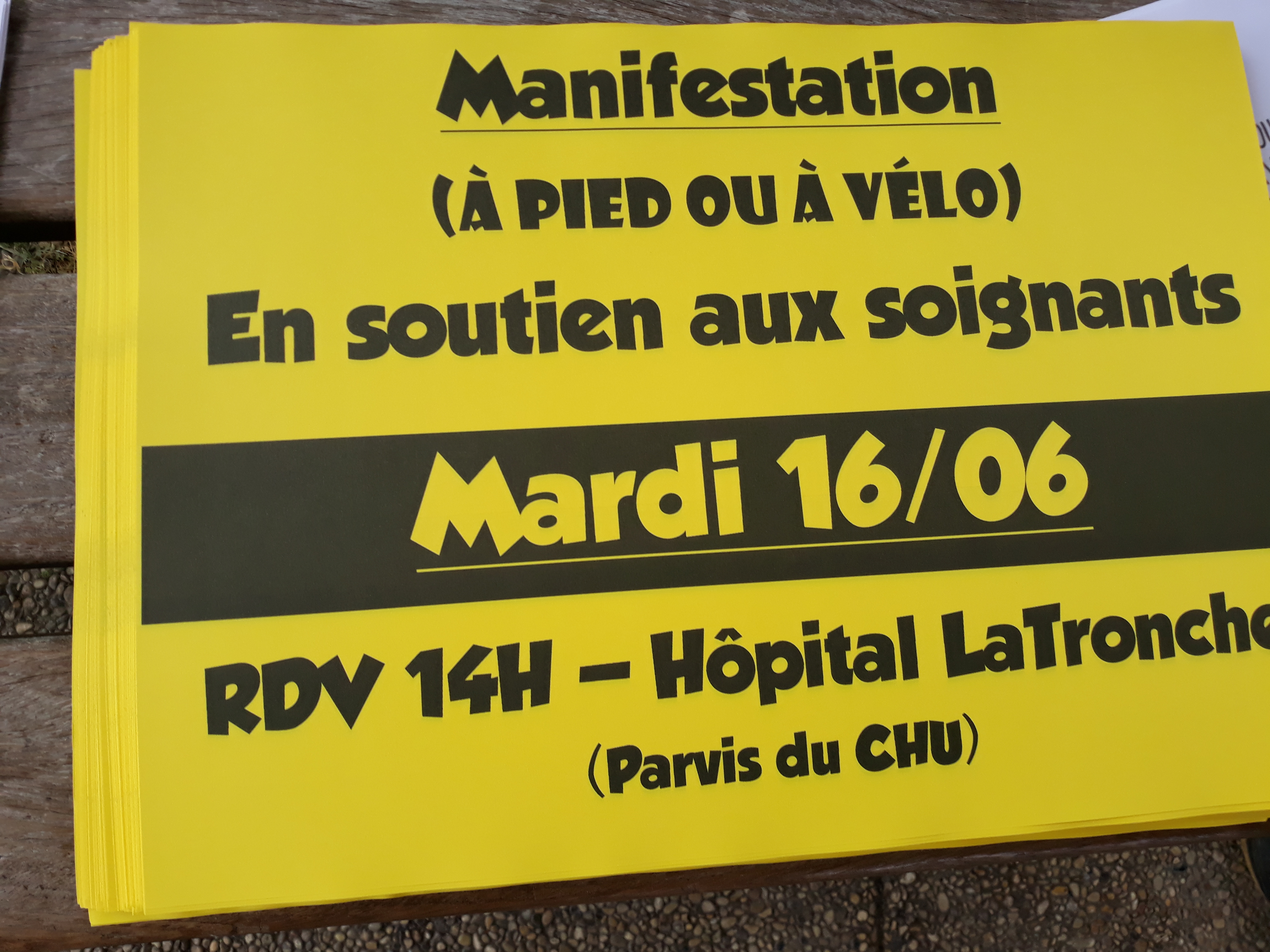 16 juin 2020 : Préavis de grève interprofessionnelle