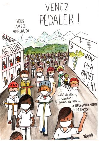 Manifestation pour la santé le 16 juin à Grenoble et en Isère ! Soignant.e.s, salarié.e.s, usagers, ensemble et déterminé.e.s !