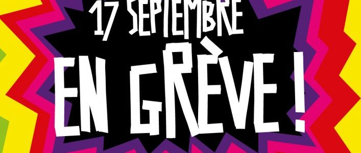 Le jeudi 17 septembre, en grève et dans la rue en Isère comme partout ailleurs !