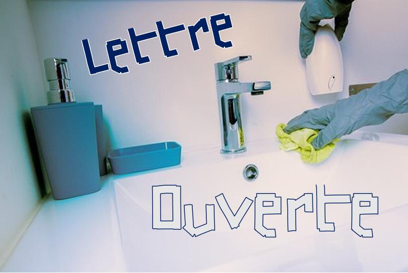 Gardes, droits : lettre ouverte de salariées de sociétés sous-traitantes pour l'hygiène et le nettoyage des établissements de santé et EHPAD de l'Isère