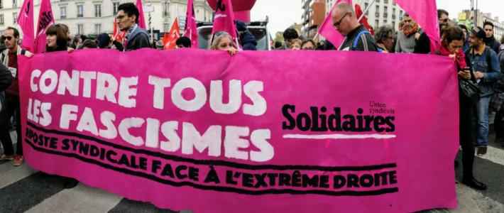 Grenoble se mobilise contre le racisme et l'extrême-droite et pour la Solidarité le mercredi 21 octobre 2020