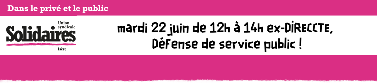 Solidaires Isère